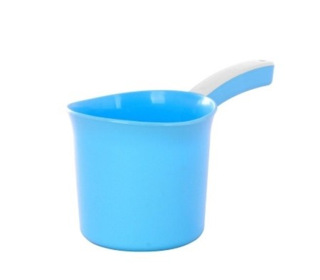 Kiramas Scoops has a simple design and trendy colors. Make your bathroom colorfull.  With high quality plastic. Round handle also easy to hold without pain.   Safe to use and durable.