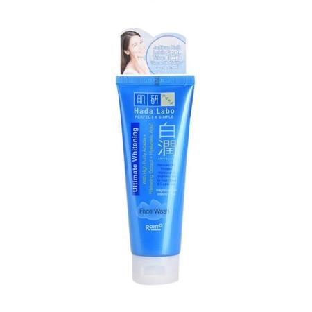 Hada Labo Whitening Face Wash merupakan pembersih wajah yang berguna untuk mengangkat kotoran. Produk ini juga dapat membantu merawat kulit agar cerah dan lembut.