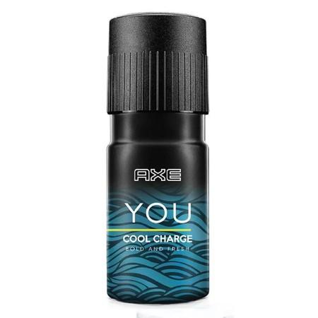 Axe Deo Bodyspray You Cool Charge 150Ml, Deodoran Semprot Persembahan Axe Yang Satu Ini Siap Mencegah Bau Tidak Sedap Karena Keringat Berlebih Dari Ketiak Anda. Axe Memberi Perlindungan Untuk Tubuh Sepanjang Hari Khususnya Pada Kulit Ketiak Agar Tetap Ker