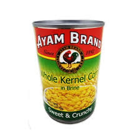 No Coloring - Ayam Brand Is One Of The Few Brands To Deliver A High Quality Corn Without Coloring.  Ayam Brand Selects Only Varieties Of Corns Which Are Non Gmo. Ayam Brand Corn Cream Style Is Produced Without Added Msg, Without Added Preservative