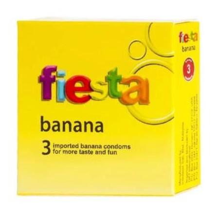 Bagi pasangan Anda yang menyukai pisang, Anda dapat mencoba kondom dengan rasa pisang ini, sensasi rasanya membuat ketagihan. Tidak hanya itu, kondom ini juga memiliki tekstur bergaris yang mampu memberikan rangsangan dan sensasi menggoda di organ vital w