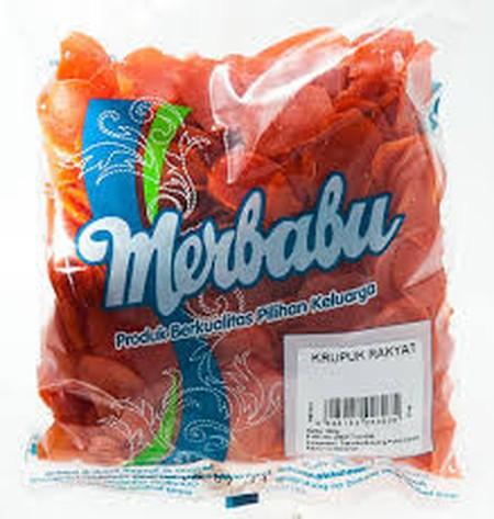 Merbabu Kerupuk Rakyat 250g merupakan kerupuk mentah siap olah persembahan Merbabu yang diproduksi untuk melengkapi kebutuhan makanan pendamping di rumah Anda.