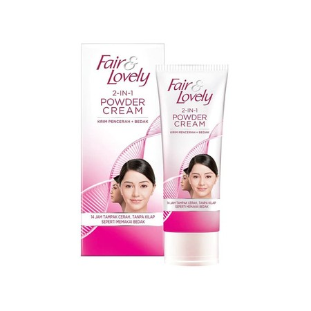 Fair & Lovely 2 In 1 Powder Cream 20G Merupakan Krim Pencerah Plus Bedak Persembahan Fair & Lovely Yang Berfungsi Untuk Membuat Wajah Anda Menjadi Tampak Lebih Cerah Seperti Memakai Bedak Dan Tanpa Kilap Pada Wajah. Sangat Praktis Digunakan Untuk Membuat