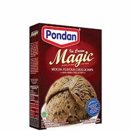 Bahan Premiks Untuk Membuat Ice Cream Mix Mocca
