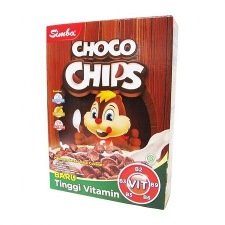 Simba Choco Chips Merupakan Cereal Yang Lezat Dan Bergizi. Cereal Ini Dapat Anda Nikmati Dengan Susu Cair. Mengandung Kalsium Dan Zat Besi Yang Merupakan Nutrisi Yang Baik Untuk Tubuh.     Mengandung Kalsium Dan Zat Besi - Dapat Dicampur Susu Cair - Ukura