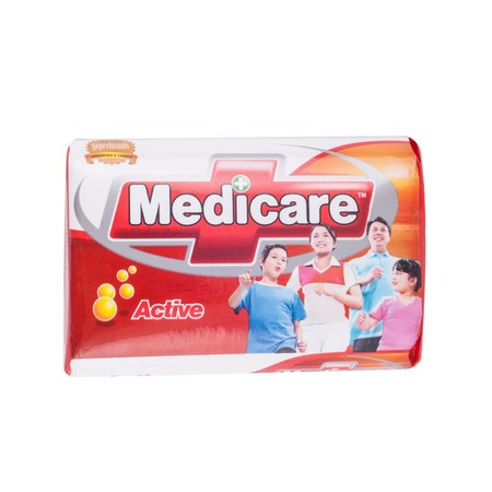 Medicare merupakan sabun batang antibacterial