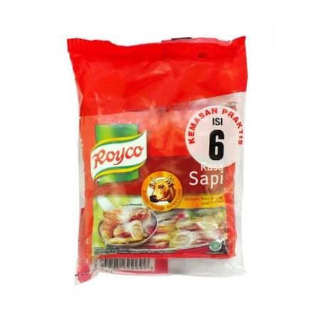 Royco Kaldu Sapi dibuat dengan daging sapi yang direbus lama memberikan kaldu mantap dan rasa daging sapi lezat untuk semua masakan