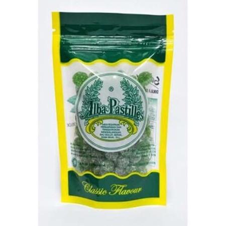 Alba Pastiles Soft Candy 25Gr Adalah Permen Rasa Mint Pelega Tenggorokan.