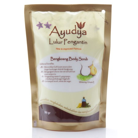 Ayudya Lulur Pengantin Bengkoang Body Scrub Best If You Want To Brighten Skin Brighten Skin Blemishes Normally Contained On Elbow, Knee Area, Under The Armpits And Groin Provide Protection For The Skin.  Suitable For : All Skin Conditions Applications : M
