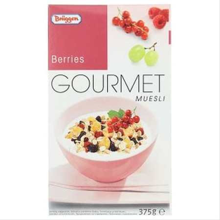 Briiggens Gourmet Muesli Berries Cereal Snack Sereal Sehat Import 375Gr Brggen`S Range Of. Gourmet Mueslis, Packed With Essential Nutrients And Energy, Make An Important Contribution To A Well-Balanced Diet Day After Day. For An Enjoyable Breakfast Experi