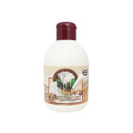 Velvy Goats Milk Licorice & Shea Butter merupakan shower cream dengan Licorice yang menyegarkan dan mencerahkan, serta shea butter yang melembabkan kulit