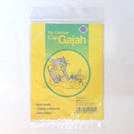Lem Lalat Cap Gajah merupakan lem superlengket dan tidak beracun