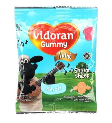 Membantu memenuhi kebutuhan vitamin anak dalam masa pertumbuhan. MultiVitamin dalam bentuk gummy yang kenyal dengan berbagai karakter, membuat anak-anak dapat menikmati kebaikan multivitamin dengan cara yang menyenangkan