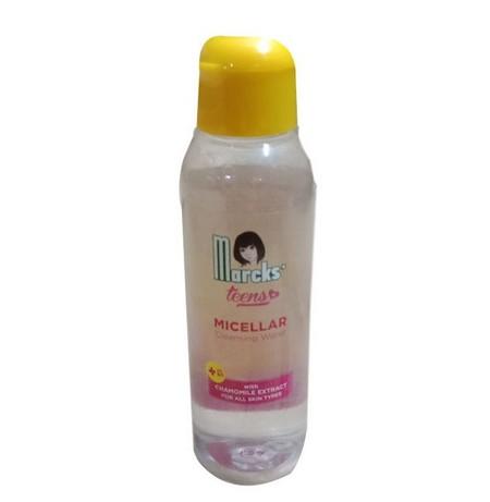 Marcks' Teens Micellar Water Produk yang mampu membersihkan dan menghapus kotoran serta sisa make up pada wajah. Diperkaya dengan Vitamin B3 yang dapat membantu wajah tampak lebih cerah alami. Serta extract Chamomile didalamnya mampu melindungi kulit dari