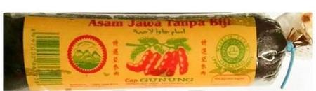Asam jawa tanpa biji, seedless java tamarind. Siap pakai untuk bumbu masakan atau minuman. Kualitas export. Bersertifikat halal MUI