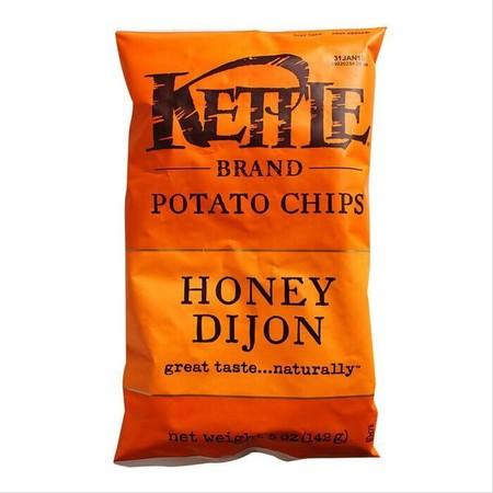 Kettle Honey Dijon Chips Kentang Terbuat Dari Bahan Terbaik Untuk Cita Rasa Yang Alami. Honey Mustard Dijon Memberi Perpaduan Antara Rasa Manis, Tajam Dan Gurih Yang Akan Anda Cintai Pada Gigitan Pertama. Tidak Mengandung Lemak Trans, Tidak Ada Msg, Tidak