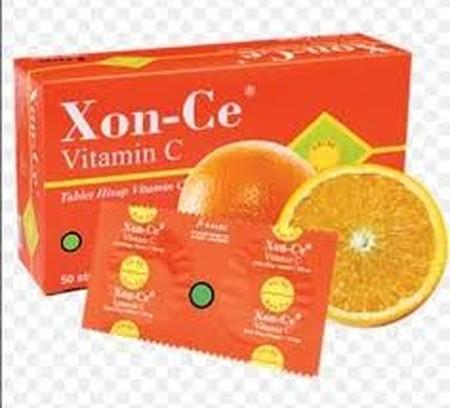 XON-CE adalah Vitamin C 500 mg, dalam format tablet hisap dengan rasa yang enak dan praktis untuk dibawa kemana-mana. Vitamin C merupakan vitamin yang dibutuhkan setiap hari untuk menangkal radikal bebas dan menjaga daya tahan tubuh anda, sehingga tidak g