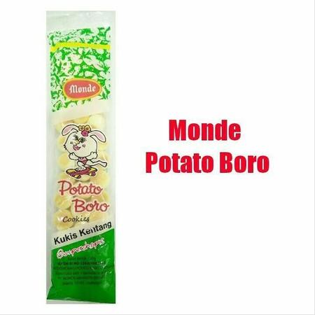 Boromon Kukis yang pasti di sukai anak2 dan orang dewasa. Terbuat dari tepung kentang. Bebas gluten. Rasa manis bukan dari gula melainkan madu.