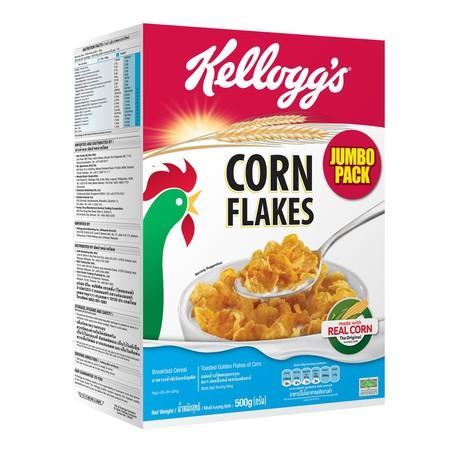 Kellogs Corn Flakes 500G Kellogg'S Corn Flakes Merupakan Sereal Yang Terbuat Dari Jagung Panggang Yang Renyah. Sereal Ini Diolah Dalam Kandungan 9 Vitamin Dan Mineral, Serta Karbohidrat Untuk Memberikan Energi Pada Si Kecil Saat Beraktifitas.