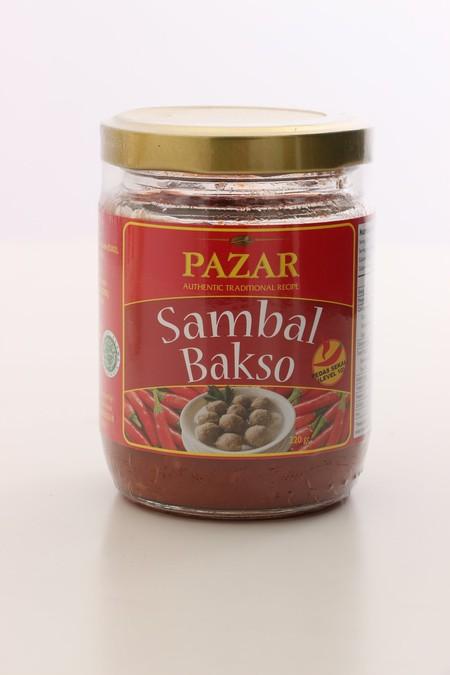 PAZAR Sambal Bakso [180 Gr] terbuat dari dari campuran bahan pilihan berkualitas terbaik dan diproses secara higienis sesuai standar keamanan pangan hingga menghasilkan rasa yang lezat dan 100% Halal.