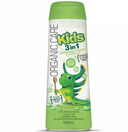 Organic Care Kids 3-In-1 Conditioning Shampoo & Bodywash, Clean Away The Dirt And Grime With An 'All Over Solution For Boys Enriched With Vitamin E And Pro-Vitamin B5. This Tear Free Formula With A Fresh Watermelon Fragrance Is The Total Cleansing And Mo