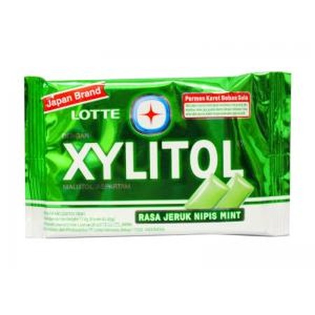 Permen Karet Lotte Xylitol Dibuat Dari Bahan Alami Yang Mampu Menjaga Tingkat Keasaman Mulut Guna Mencegah Kerusakan Gigi Dan Menghambat Pertumbuhan Bakteri.