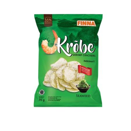 Finna krobe shrimp cracker adalah snack berbahan dasar udang yang sangat cocok untuk menemani anda saat santai maupun berlibur. Tersedia dalam berbagai variant.