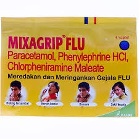 Ringankan gejala flu disertai batuk bersama MIXAGRIP Flu & Batuk New Kapsul 4s (DB). MIXAGRIP Flu & Batuk New Kapsul 4s (DB) merupakan jenis obat yang digunakan untuk mengobati gejala flu seperti demam, sakit kepala, hidung tersumbat, dan bersin disertai