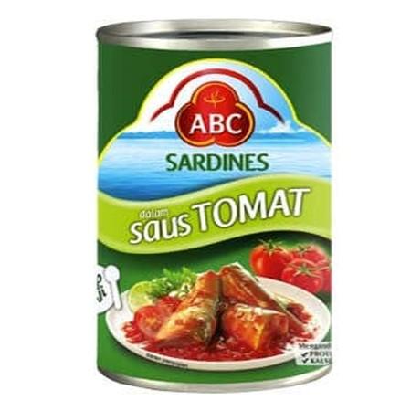 Sarden Tomat 425 Gr Adalah Makanan Siap Saji Yang Di Buat Dari Perpaduan Ikan Terbaik Dengan Saus Berkualitas Yang Sesuai Dengan Cita Rasa Masyarakat Indonesia.  Sarden Abc Juga Di Perkaya Dengan Nutrisi Omega 3 & Omega 6 Yang Baik Untuk Bantu Meningkatka