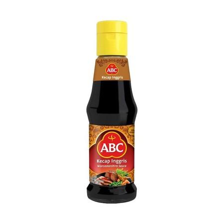 Worcestershire Sauce Abc Dalam Kemasan Botol 195 Ml , Digunakan Untuk Penyedap Utama Untuk Masakan Berbahan Daging.