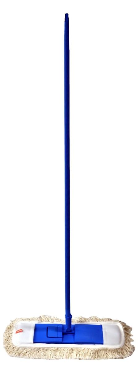 Swash Dust Mop dengan gagang teleskopik, merupakan alat Alat pel kering yang terbuat dari bahan katun berdaya serap tinggi, membersihkan dengan seksama, dilengkapi gagang yang kuat dan nyaman digunakan. Gagang teleskopik memudahkan anda dalam menyesuaikan tinggi pengguna dengan tinggi gagang agar nyaman digunakan, serta sistem satu klik yang praktis untuk melepas dan memasang kain pel.
