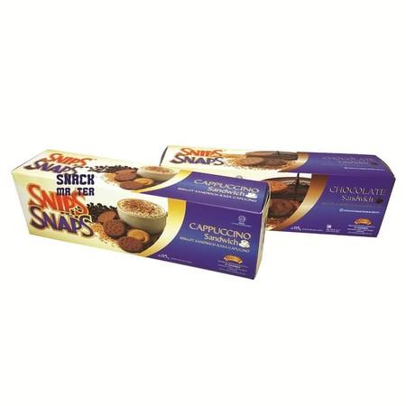 produk biskuit lezat dengan rasa cappucino yang dikemas higienis dan praktis, sehingga cocok untuk menemani aktivitas anda.