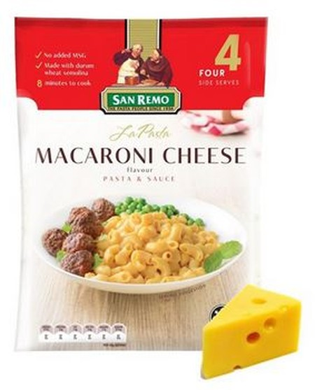 La Pasta Macaroni Cheese # 261 120gr terbuat dari bahan-bahan pilihan alami tanpa adanya tambahan kandungan MSG sehingga aman untuk dikonsumsi. Proses pembuatan pasta yang mudah ini memakan waktu 10 menit saja.