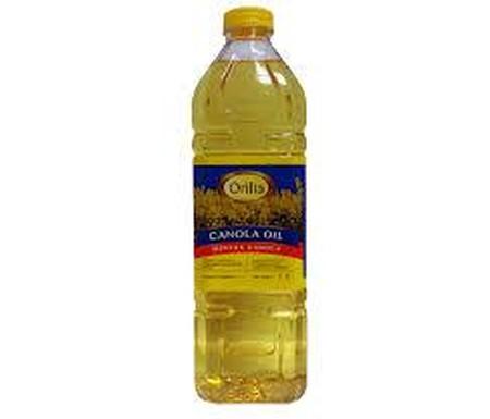 Orilia Canola Oil [1 L] merupakan minyak yang berasal dari perasan bunga canola dan mengandung omega 3 yang cukup tinggi. Memiliki smoking point (titik asap) yang tinggi sehingga sangat cocok untuk menggoreng.
