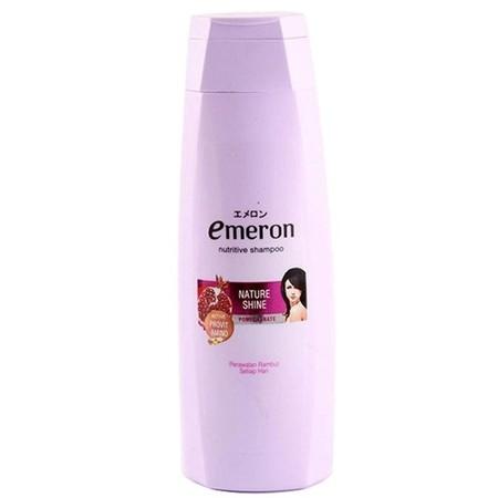 Emeron Shampoo Nature Shine Untuk Perwatan Rambut Setiap Hari Dilengkapi Dengan Active Provit Amino