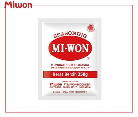 Seasoning Miwon Msg Merupakan Bahan Tambahan Pangan Untuk Memperkaya Atau Memperkuat Rasa Pada Masakan Atau Makanan Menjadi Lebih Lezat.