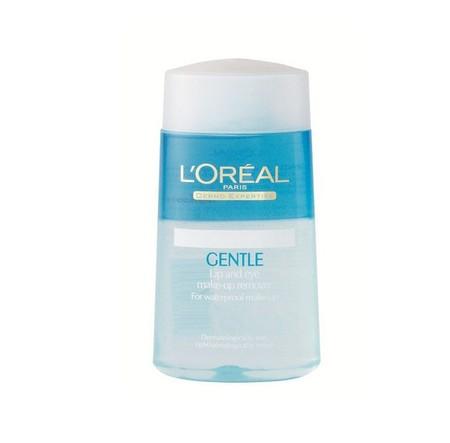 L'Oreal Paris Dermo Expertise Gentle Lip And Eye Makeup Remover Pembersih Wajah [125 Ml], Pembersih Wajah Yang Berfungsi Untuk Membersihkan Make-Up Kedap Air Di Bagian Bibir Dan Mata Secara Menyeluruh. Pembersih Ini Sangat Lembut Di Kulit Anda Dan Cocok U