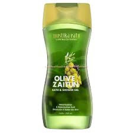 Mustika Ratu Zaitun Shower Gel terbuat dari bahan alami ekstrak minyak zaitun. Mukjizat minyak zaitun bagi kecantikan berfungsi sebagai antioksidan dan pelembab alami. Zaitun Bath & Shower Gel melembabkan kulit yang kering atau sangat kering sehingga kuli