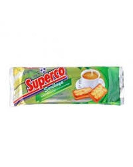 Superco Cream Srikaya Rasa Dengan Rasa Srikaya Yang Tebal, Dan Terdapat Taburan Gula.
