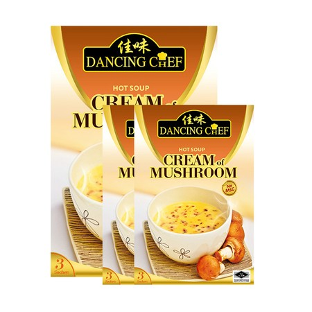 Dancing Chef Authentic Asian Presents A Range Of Easy-To-Use Ready-To-Cook Asian Cooking Pastes . A Convenient Preparation For A Classic Full-Flavoured And Creamy Mushroom Soup. Very Suitable To Be Refined With Fresh Mushrooms And Other Ingredients.