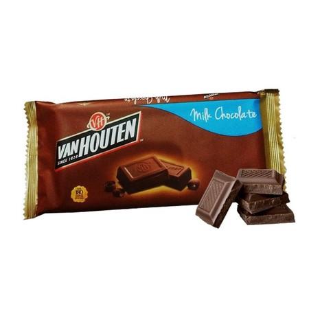 Van Houten Chuncky Milk Chocolate 65gr merupakan coklat premium yang lezat. Sangat praktis untuk dikonsumsi dan memiliki nilai gizi yang tinggi
