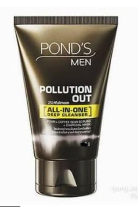 Facial Scrub Detox Pertama Untuk Pria** Yang Membersihkan Secara Mendalam^ Untuk Melawan 5 Efek Polusi Dan Membuat Wajah Tampak Extra Bersih Dan Cerah!