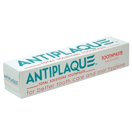 Protect Your Teeth And Gums With A Powerful Formula That Is Able To Fight Plaque, Tartar, Cavities, Gum Inflammation, Bleeding Gums, Canker Sores, And Bad Breath Effectively. Only Antiplaque Toothpaste Provides A Total Protection Solution For Your Daily O