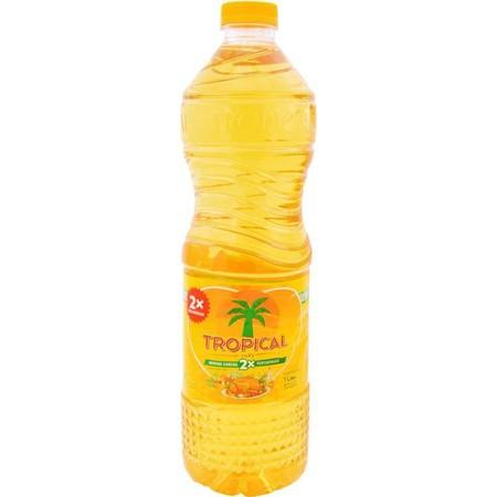 Tropical minyak goreng dibuat dari 100% kelapa sawit asli. Diproses dengan menggunakan teknologi golden refinary secara higienis yang dapat menghasilkan minyak berwarna kuning keemasan. Tropical sendiri sudah diuji akan kualitas kesempurnaannya dengan mel