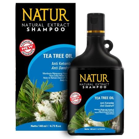 Natur Plus Tea Tree Oil Anti Dandruff mengandung Anti Bakteri Pada Tea Tree Oil Bekerja Secara Sinergis Membasmi Kutu Rambut Mengatasi Ketombe Mencegah Kulit Kepala Kering Dan Berminyak Cara pemakaian Tree Tea Oil Komposisi d+igunakan sehari-hari.