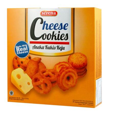 biskuit manis yang berasa banget kejunya. terbuat dari bahan pilihan yang diolah secara higienis sehingga cocok untuk dinikmati seluruh keluarga.
