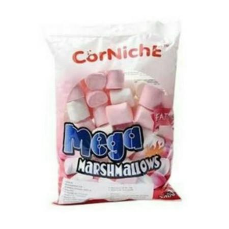 Corniche Mega Marshmallow Adalah Marshmallow Dengan Variant Rasa Manis.