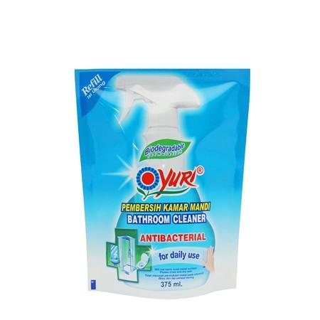 Yuri Antibacterial Bathroom Cleaner Diformulasikan Secara Khusus Untuk Menghilangkan Noda Membandel Seperti Jamur Dan Kotoran Dari Permukaan Kamar Mandi. Selain Membersihkan, Yuri Antibacterial Bathroom Cleaner Juga Dapat Menghilangkan Kuman Dan Memberika