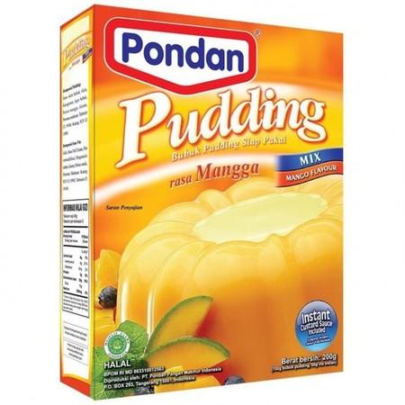 Bahan Premiks Untuk Membuat Pudding Mangga