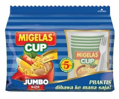 Pop Mie Cup Rasa Baso Jumbo [75 g] merupakan mie yang memiliki cita rasa yang gurih dan lezat, membuat siapa saja menyukainya. Dapat pula dikonsumsi setiap saat kapanpun dan dimanapun, serta aman dikonsumsi. Dengan tekstur yang lembut, kenyal, dan rasa ya